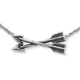 Crossed Paths Friendship Necklace