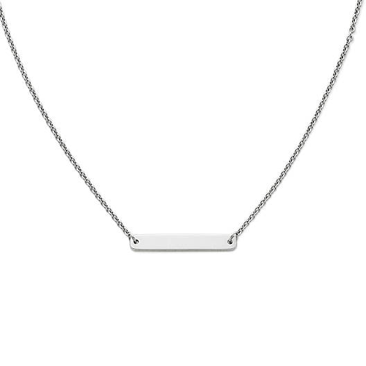 View Larger Image of Engravable Horizon Necklace