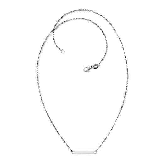 View Larger Image of Petite Engravable Horizon Necklace