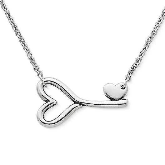 View Larger Image of Key to My Heart Necklace
