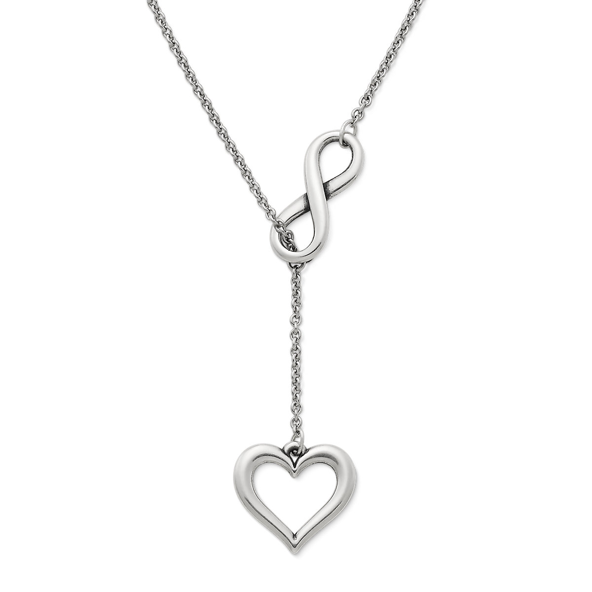 Silver necklaces pendant necklaces james avery infinite love necklace mozeypictures Image collections