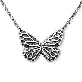 Sculpted Butterfly Necklace