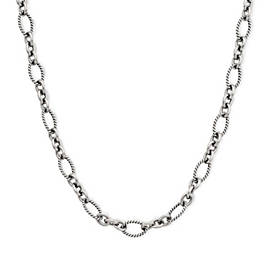 Oval Twist Necklace