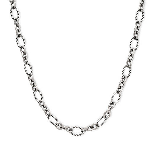 View Larger Image of Oval Twist Necklace