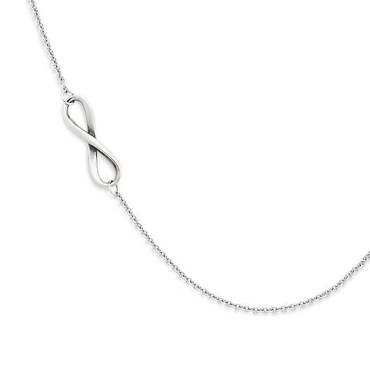 View Larger Image of Petite Infinity Necklace