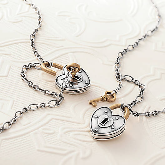 View Larger Image of Love Lock Necklace