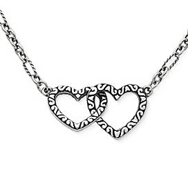 Hearts Together Necklace