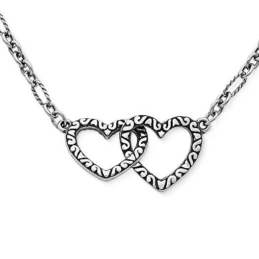 View Larger Image of Hearts Together Necklace