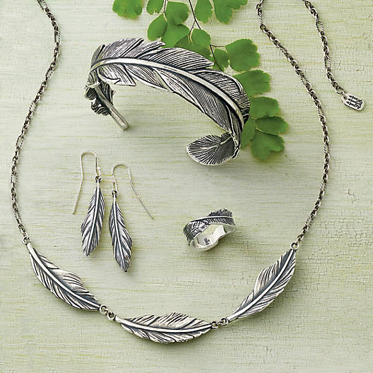 View Larger Image of Feather Necklace