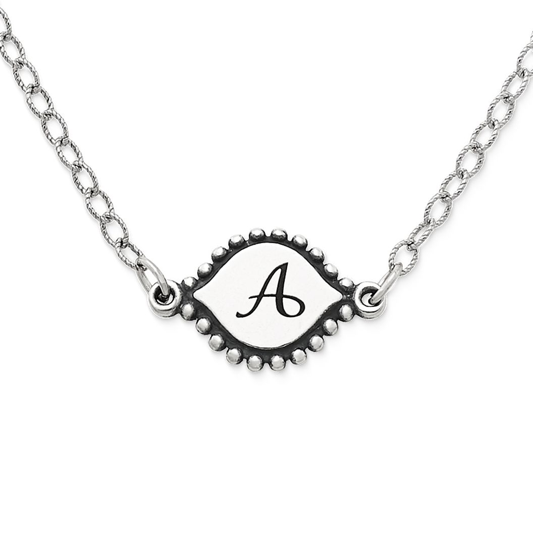 memoir initial necklace james avery
