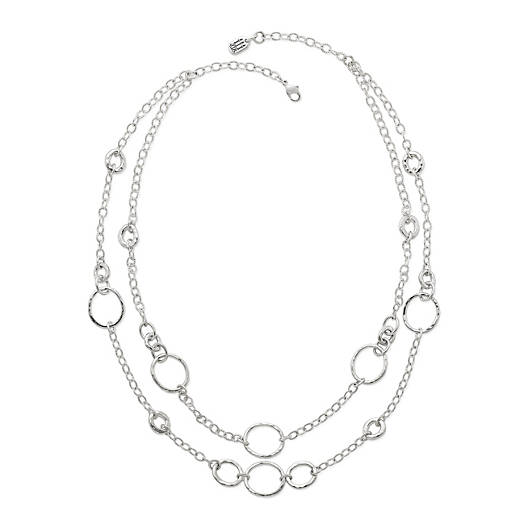 View Larger Image of Forged Circles Necklace