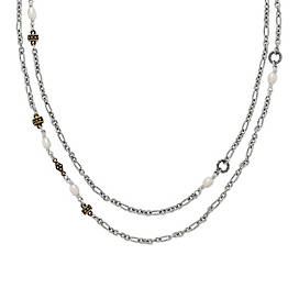 Marjan Necklace with Cultured Pearls