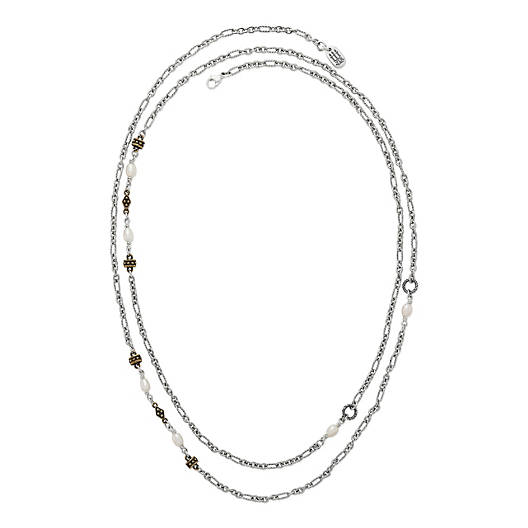 View Larger Image of Marjan Necklace with Cultured Pearls