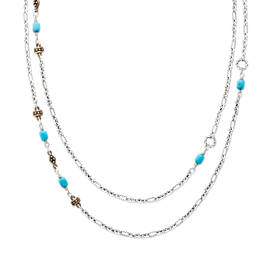 Marjan Necklace with Turquoise