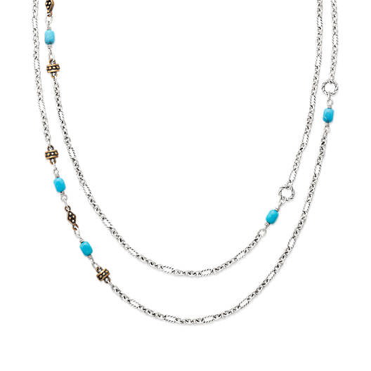 View Larger Image of Marjan Necklace with Turquoise
