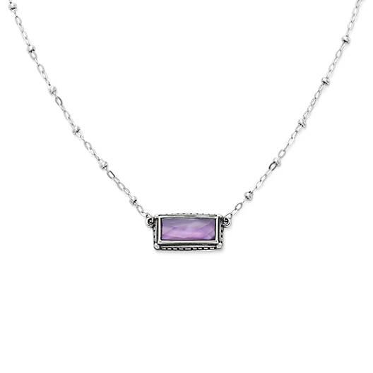 Palais Violet Doublet Necklace