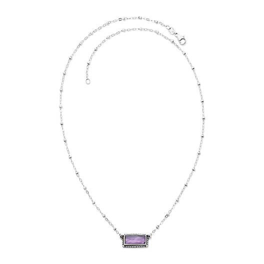 View Larger Image of Palais Violet Doublet Necklace