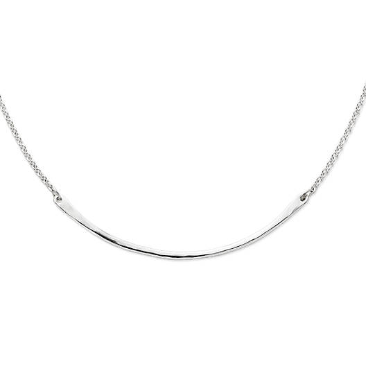Hammered crescent changeable charm holder necklace james avery view larger image of hammered crescent changeable charm holder necklace aloadofball Images