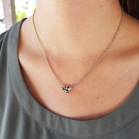 View Larger Image of Honey Bee Necklace