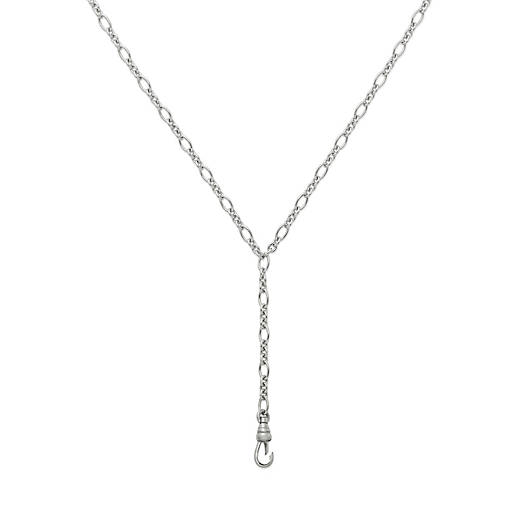 View Larger Image of Changeable Lariat Charm Holder Necklace