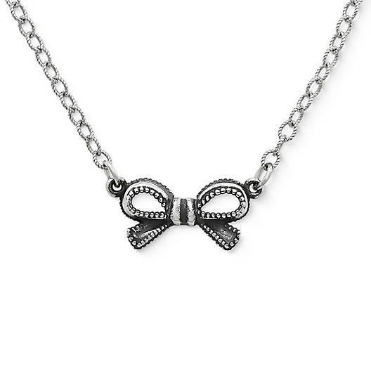 View Larger Image of Petite Vintage Bow Necklace