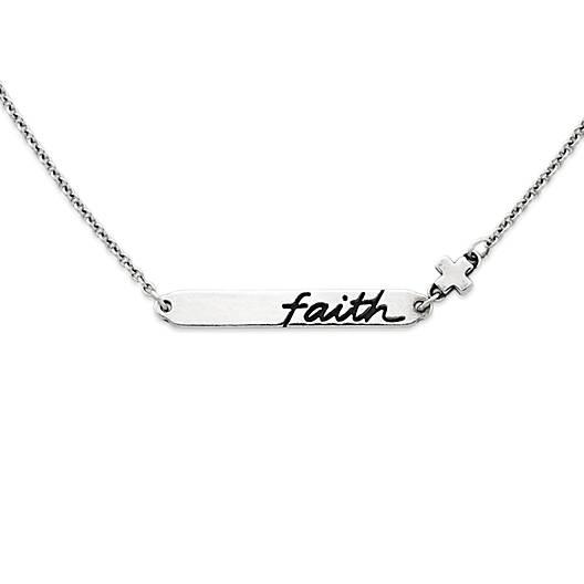 """""""Faith"""" Horizon Necklace"""