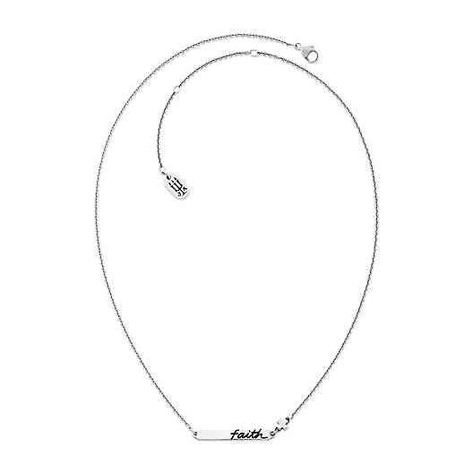 """View Larger Image of """"Faith"""" Horizon Necklace"""