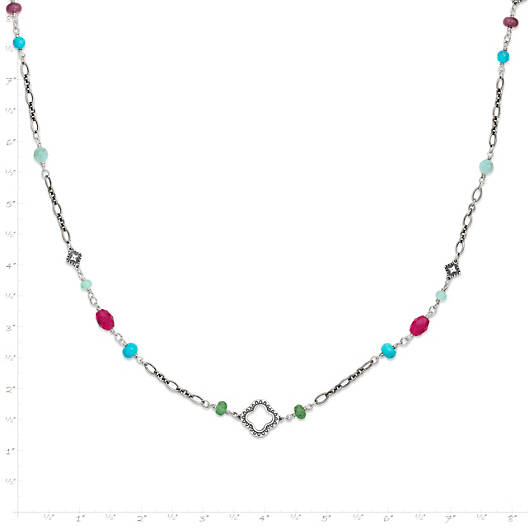 View Larger Image of Kaleidoscope Gemstone Necklace