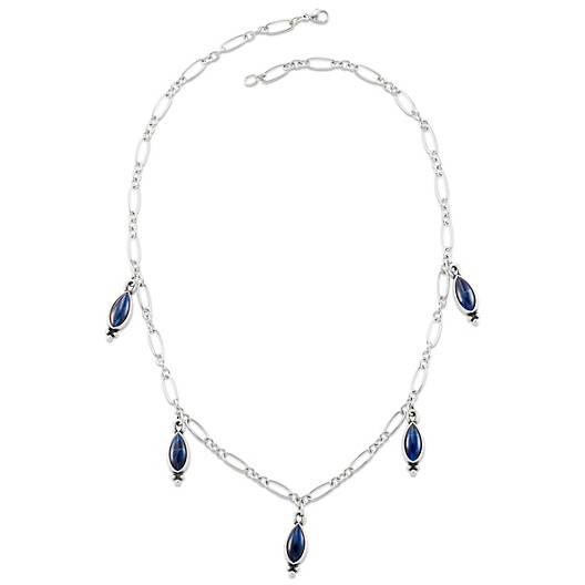View Larger Image of Adela Necklace with Sodalite