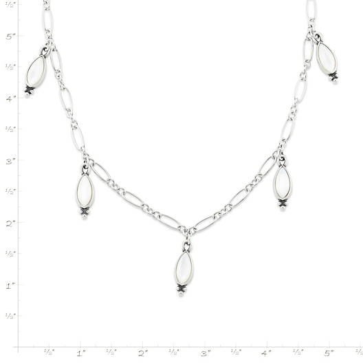 View Larger Image of Adela Necklace with Mother of Pearl