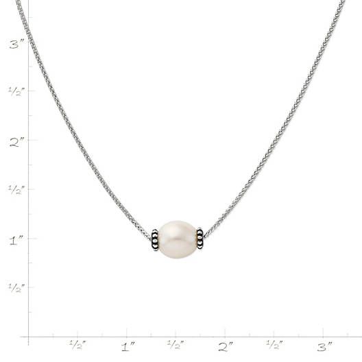 View Larger Image of Beaded Cultured Pearl Slider Necklace