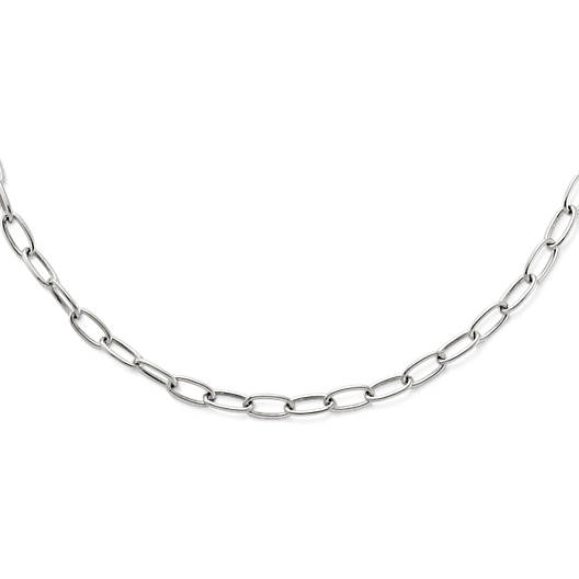 View Larger Image of Oval Link Charm Holder Necklace