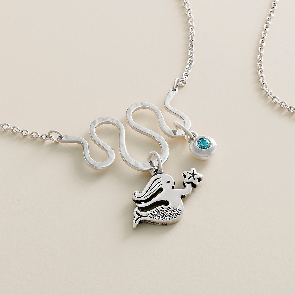 Journey Changeable Charm Holder Necklace   James Avery