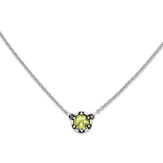 View Larger Image of Cherished Birthstone Necklace with Peridot