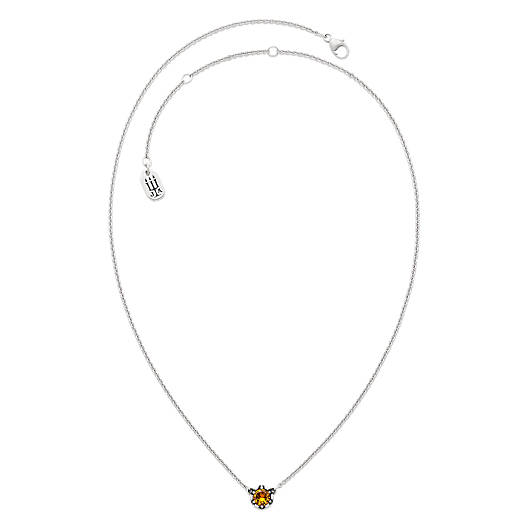 View Larger Image of Cherished Birthstone Necklace with Citrine