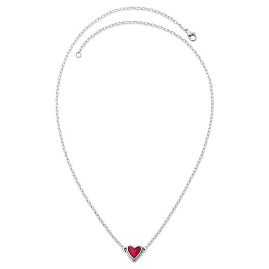 View Larger Image of Sweetheart Rouge Doublet Necklace