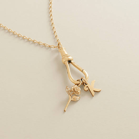View Larger Image of Elegant Fob Changeable Charm Necklace