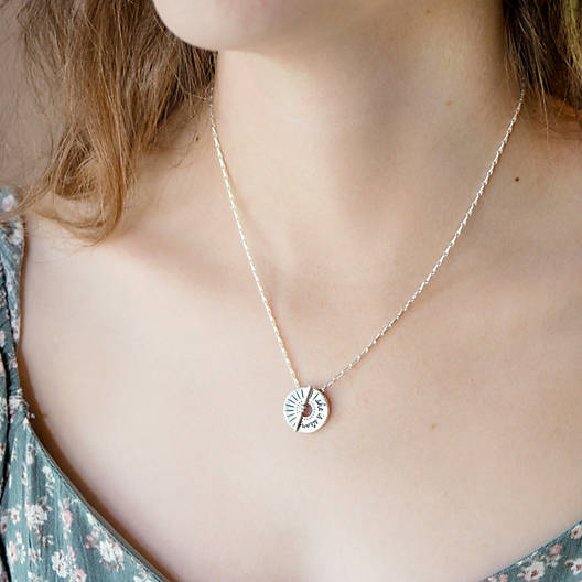 """View Larger Image of """"She is Strong"""" Necklace"""