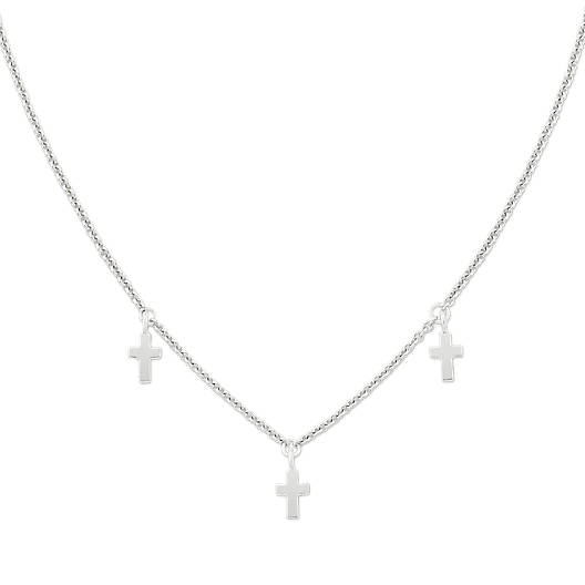View Larger Image of Trinity Cross Necklace