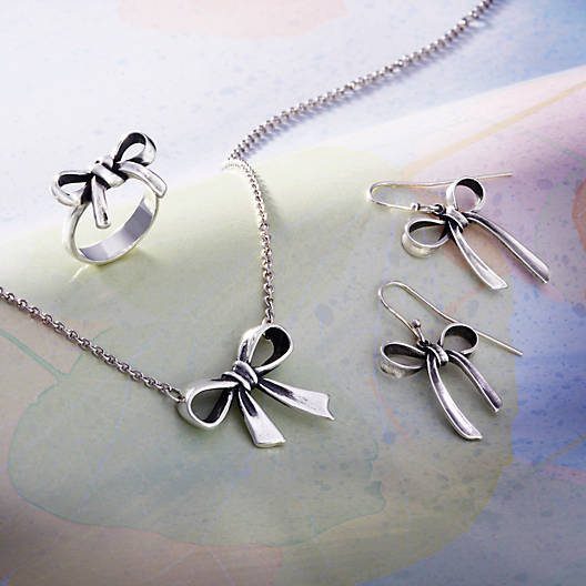 View Larger Image of Bow Necklace