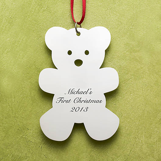 View Larger Image of Teddy Bear Ornament