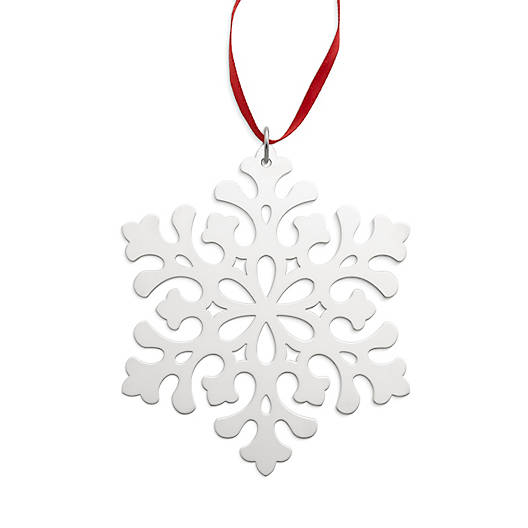 Woodland Snowflake Ornament