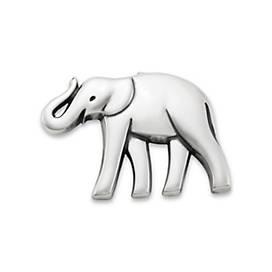 Indian Elephant Pin Pendant