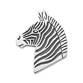 Mountain Zebra Pin Pendant