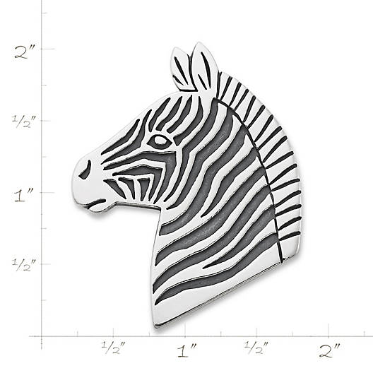 View Larger Image of Mountain Zebra Pin Pendant