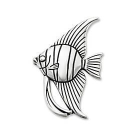 Angel Fish Pin Pendant