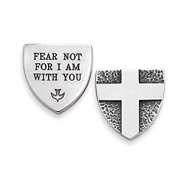 """Fear Not..."" Pocket Piece"