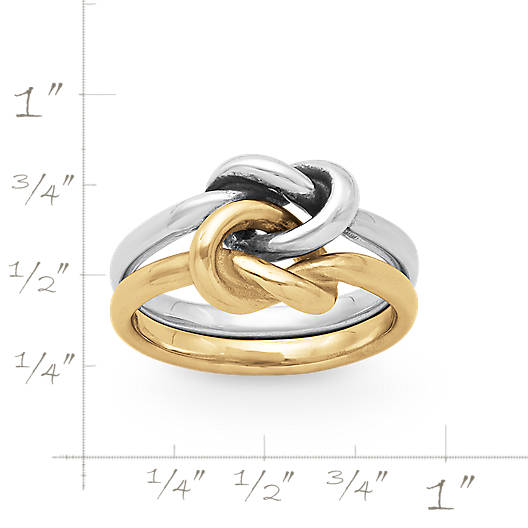 View Larger Image of Original Lovers' Knot Ring