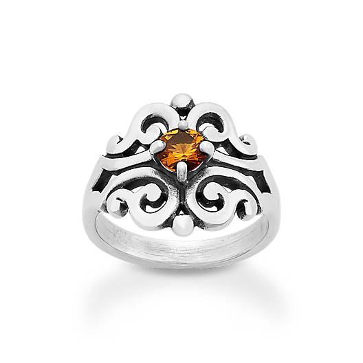 View Larger Image of Spanish Lace Ring with Citrine