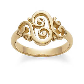 Spanish Swirl Ring